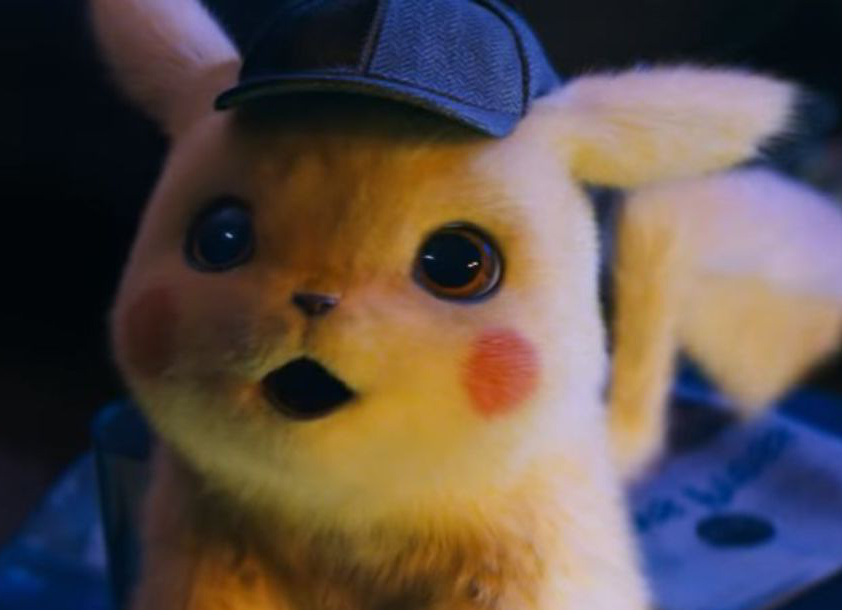 Surprised Pikachu Detective